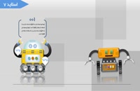 قالب متحرک پاورپوینت روبات