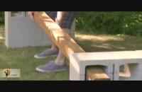 آموزش ساخت نیمکت ویلا
