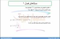 جلسه 16 فیزیک یازدهم- حل مسئله 1 و 2 آخر فصل 1 - مدرس محمد پوررضا