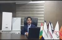 ارور کد خطا E50 در پکیج های دیواری دیجیتال ایران رادیاتور در شیراز