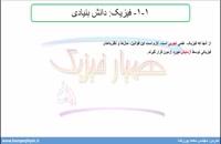 جلسه 2 فیزیک دهم- فیزیک دانش بنیادی 2- مدرس محمد پوررضا