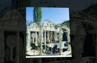 سرستون فایبرگلاس | مجسمه فایبرگلاس