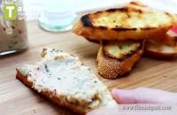پاته میگو با نان برشته | فیلم آشپزی