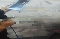 دستگاه مخمل پاش مخزن دار صنعتی 09356458299