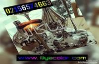 ساخت دستگاه مخمل پاش صنعتی