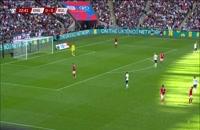 خلاصه بازی انگلیس - بلغارستان؛ (خلاصه کوتاه) پلی آف یورو 2020