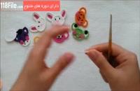 بافت کیف موبایل عروسکی