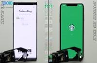 مقایسه سرعت گوشی های  Note 10 plus  و Iphone X max