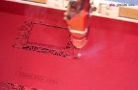 مراحل برش لیزری مقوا و کاغذ در خانه طراحان سام