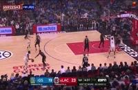 خلاصه بسکتبال لسآنجلس کلیپرز - گلدن استیت (بازی ششم)