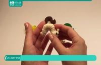 آموزش رنگ ها به کودکان به شکل کرم ابریشم قسمت 1
