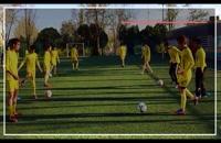 آموزش فوتبال حرفه ای به کودکان