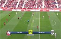 خلاصه بازی لیل - آنژه؛ (خلاصه کامل) لیگ 1 فرانسه