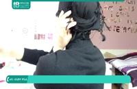 بستن شال و روسری با حجاب