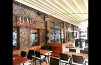 حقانی 09380039391-سقف متحرک حیاط رستوران- سقف جمع شونده تراس رستوران