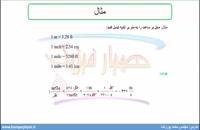 جلسه 14 فیزیک دهم-تبدیل یکاها 2 - مدرس محمد پوررضا