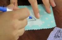 آموزش دوخت جا دکمه مثلثی فیلتابی
