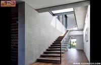 معماری مدرن با بتن اکسپوز