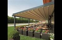 حقانی 09380039391-سقف جمع شونده حیاط رستوران- فروش سقف برقی تالار