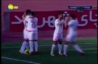 خلاصه بازی سپیدرود و پرسپولیس - هفته بیست و دوم لیگ برتر ایران