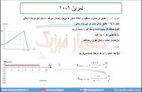 جلسه 42 فیزیک دوازدهم-حرکت با شتاب ثابت 10 حل پرسش 7 و تمرین 10 کتاب  درسی- مدرس محمد پوررضا