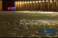 زیر آب رفتن مرگبار ونیز ایتالیا
