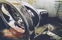 آبکاری فاتاکروم 09195642293 دستگاه مخمل پاش