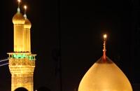 فیلم های خام گنبد حرم امام حسین علیه السلام در شب 5