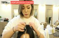 ترفندهای صاف کردن موها در چند ثانیه