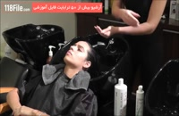 لخت کردن موهای فرفری بدون استفاده از مواد شیمیایی