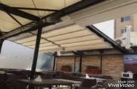 09300093937ساتکین، سقف متحرک -– سایبان متحرک –- سقف تاشو –-  سایبان تاشو –-  سقف  جمعشو –-  سایبان جمعشو  -– سازه چادری - سقف برقی
