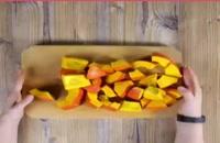 طرز تهیه سوپ کدو حلوایی و سیب زمینی