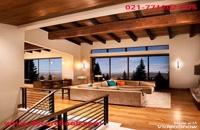 دکوراسیون چوبی منازل شیک