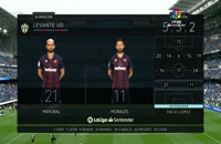 فول مچ بازی رئال مادرید - لوانته (پیش از بازی)؛ لالیگا اسپانیا