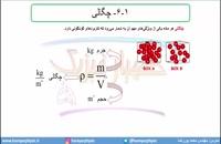 جلسه 10 فیزیک نظام قدیم - چگالی 1 - مدرس محمد پوررضا