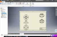 inventor create 2d drawing from 3d model