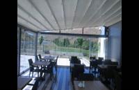 09380039391-سقف متحرک حیاط -سقف سانروفی باغ تالار