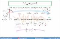 جلسه 30 فیزیک یازدهم- الکتریسته ساکن تست ریاضی 96- مدرس محمد پوررضا