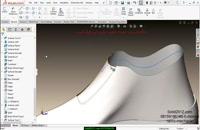 آموزش نرم افزار سالیدورک SURFACE سازی پیشرفته