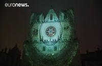 جشن سالانه نور در شهر لیون فرانسه  | توریستی