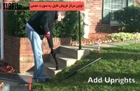 آموزش نصب نرده برای پله های حیاط با استفاده از لوله