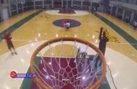 رباتی که استاد پرتاب سه امتیازی در بسکتبال است