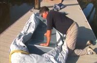 آموزش نصب و راه اندازی قایق بادی