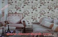 کاغذ دیواری شیک و زیبا برای سالن پذیرایی