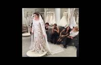 مدل های 2019 لباس ساقدوش عروس-کیف و کفش عروس-ژست عکاسی-کارت عروسی