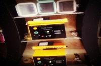 دستگاه مخمل پاش در شهر کرد 09300305408گلد فلوک کروم