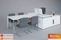 انواع میز پایه فلزی | مبلمان اداری بنکو| 26100782