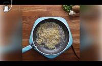 فیلم آموزش  طرز تهیه بمب سیبزمینی شکمپر