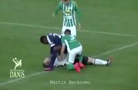10 تا از خطرناک ترین آسیب دروازه بان های فوتبال