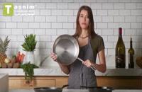 استفاده ظروف مناسب در پخت | فیلم آشپزی